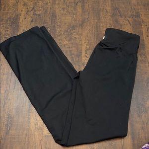 UEC black champion wide leg yoga pants